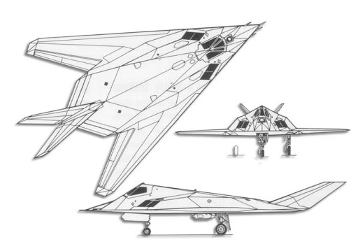 F-117-3view