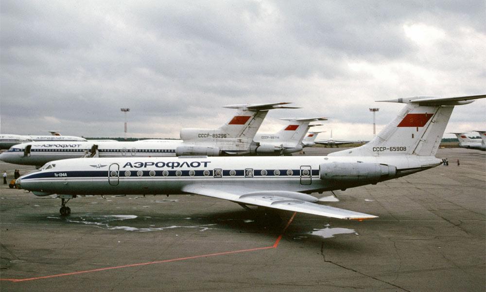 Tupolev-Tu-134-Aeroflot